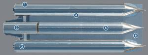 underside of tri-toon deck