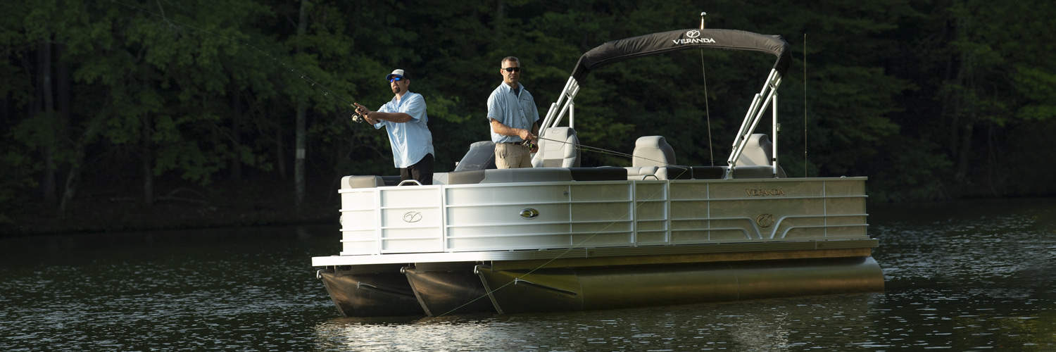 2019 Veranda Luxury Pontoons Fishing