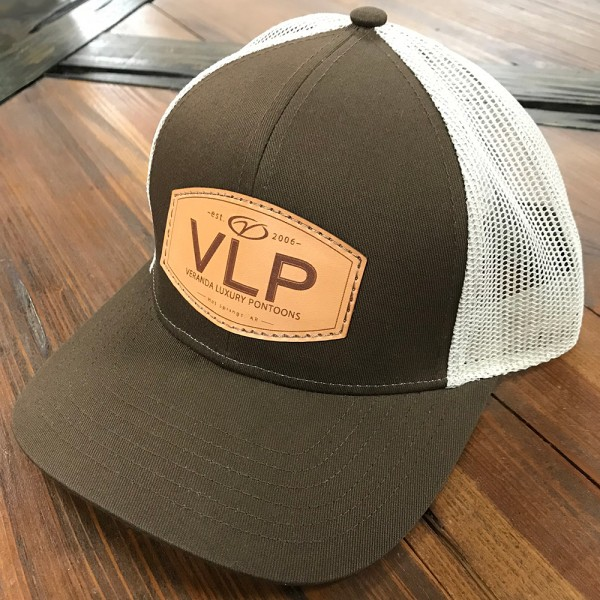 VLP leather patch hat 3