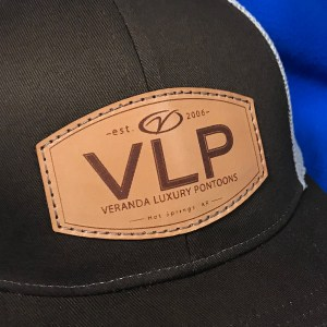 VLP leather patch hat 2
